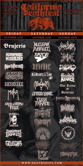 CALIFORNIA DEATH FEST