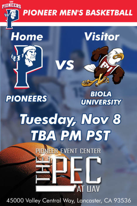 UNIVERSITY OF ANTELOPE VALLEY vs BIOLA UNIVERSITY