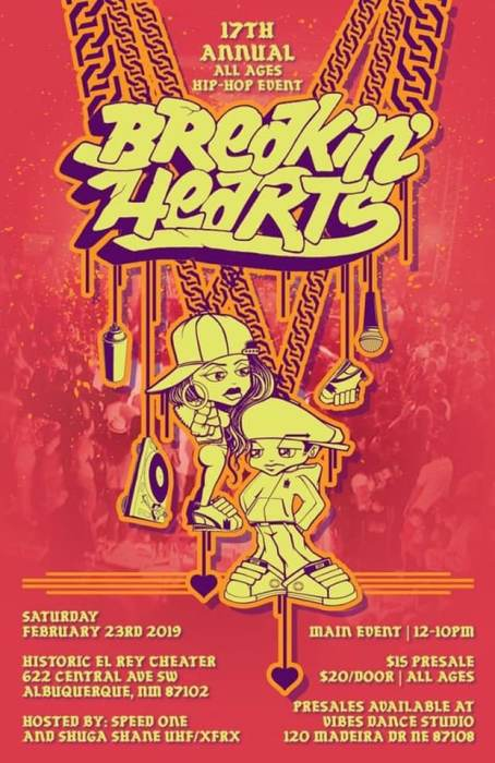 17th Annual Breakin Hearts