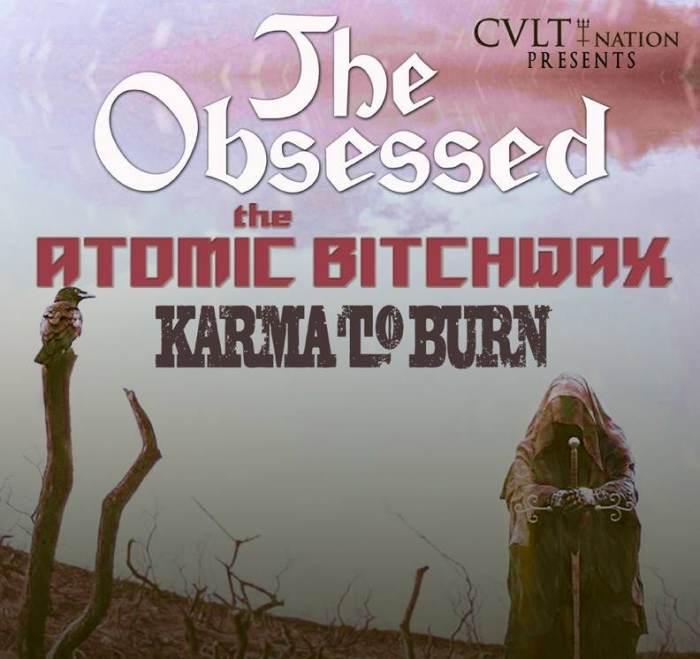 THE OBSESSED | Karma To Burn | Sierra | Eat The Witch