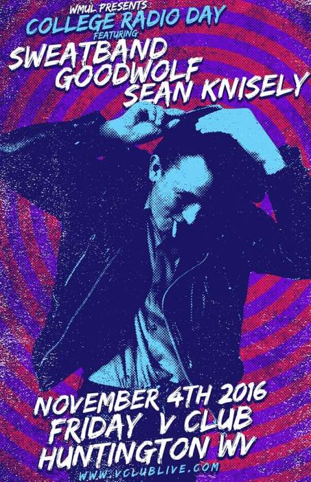 WMUL Presents: College Radio Day W/ Sweatband / Goodwolf / Sean Knisely