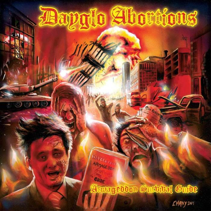 Dayglo Abortions, Starving Wolves, War Bison