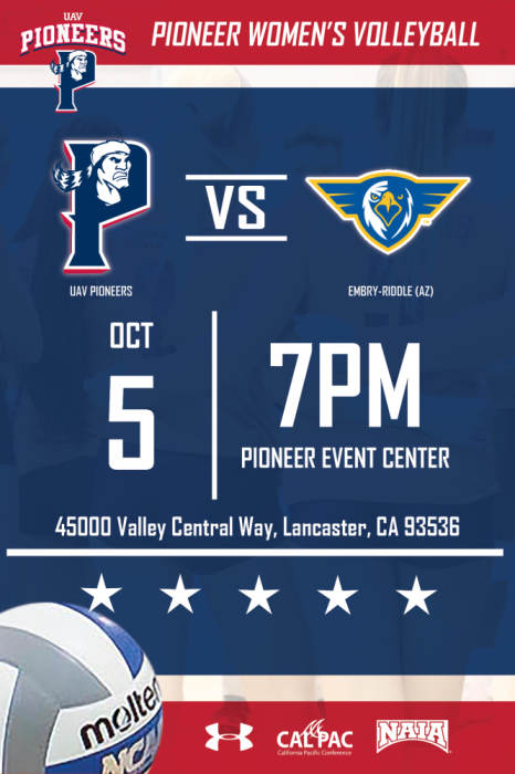 UNIVERSITY OF ANTELOPE VALLEY VS EMBRY-RIDDLE (AZ)