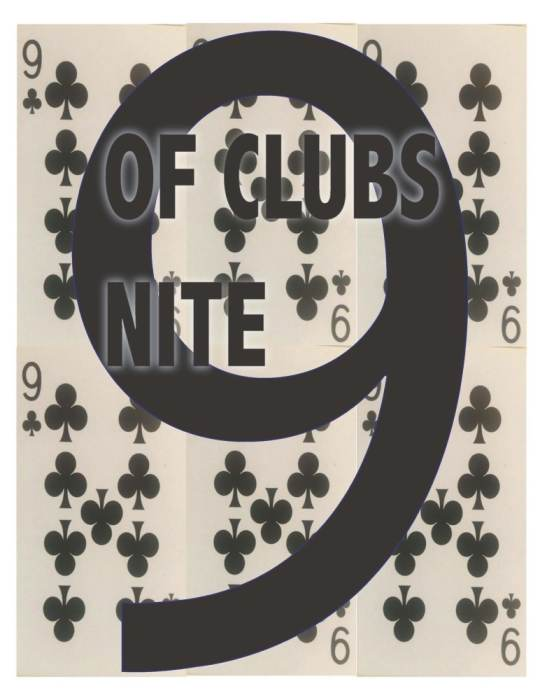 9 of Clubs Nite Returns with DJ DEBI & DJ DIAMOND DAVE