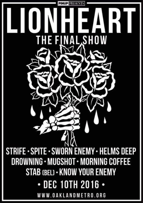 """The Final Lionheart Show"""