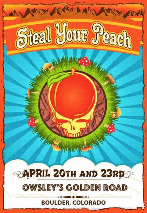Steal Your Peach:  Allman Brothers/Grateful Dead Mashup