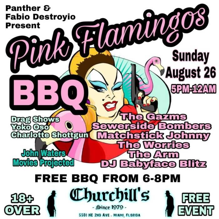 Pink Flamingos BBQ - Customer Appreciation Day - No Cover - Free Food - Live Music