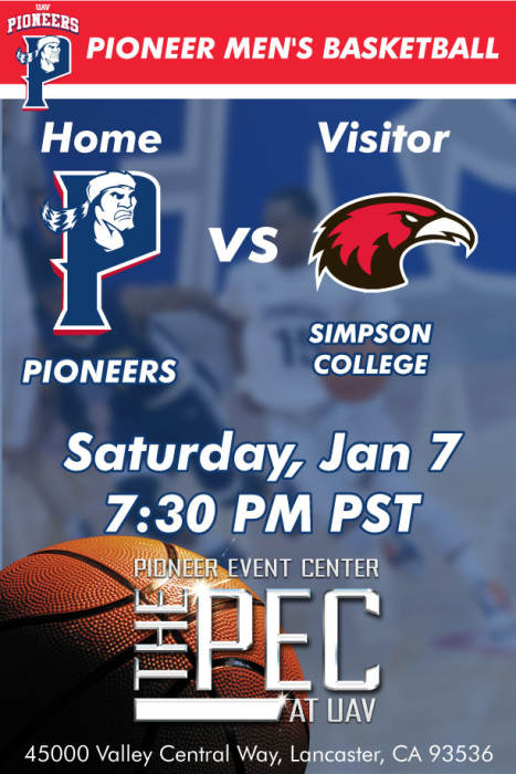 UNIVERSITY OF ANTELOPE VALLEY vs SIMPSON COLLEGE