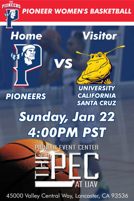 University OF Antelope Valley Pioneers vs UC- SANTA CRUZ