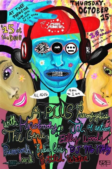Jel, A-Plus & Knobody, The Genie, Billy Woods, Premrock, Pure Powers, Bottled Water, Babii Cris, DJ Mo Niklz