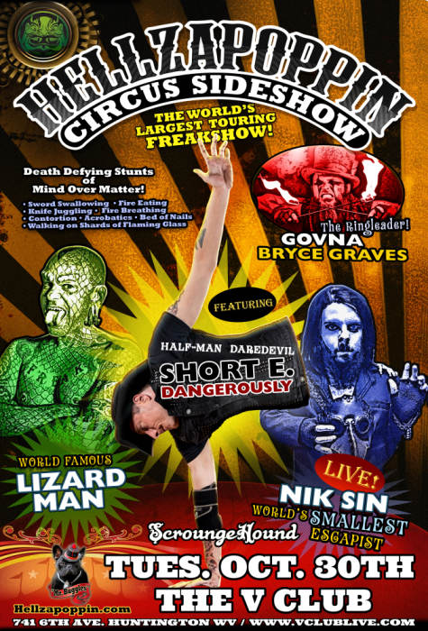 HELLZAPOPPIN SIDE SHOW CIRCUS