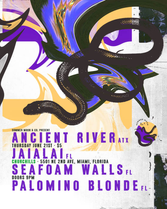 Ancient River, Jaialai, Seafoam Walls & Palomino Blond