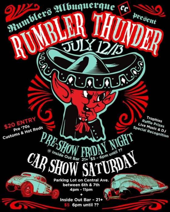 Rumbler Thunder 2019