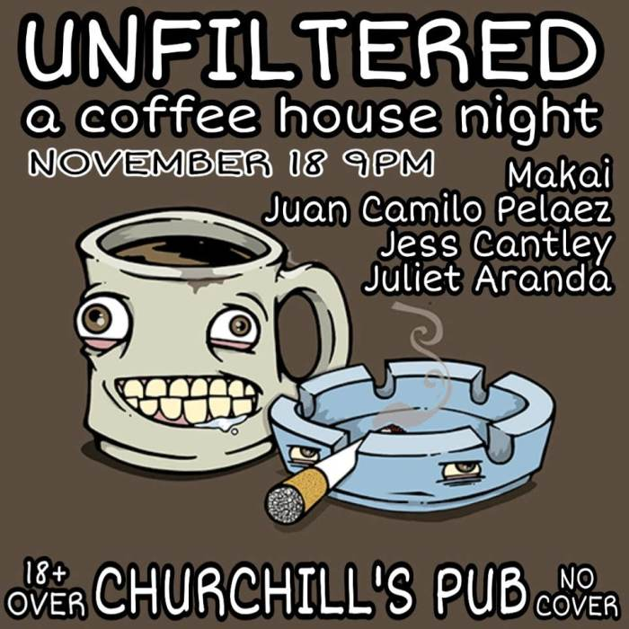 Unfiltered:A Coffee House Night
