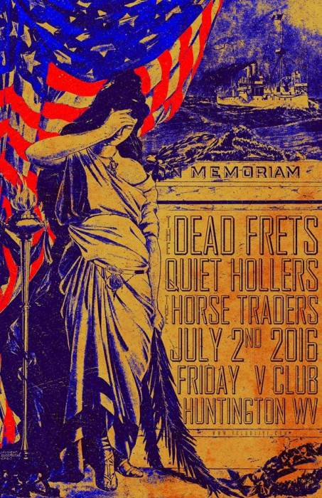 The Dead Frets / Quiet Hollers / The Horse Traders