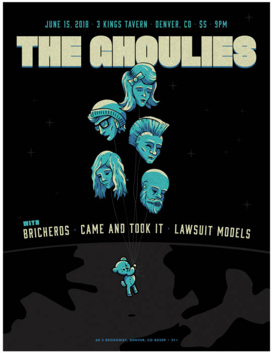 THE GHOULIES, BRICHEROS, CAME AND TOOK IT, LAWSUIT MODELS
