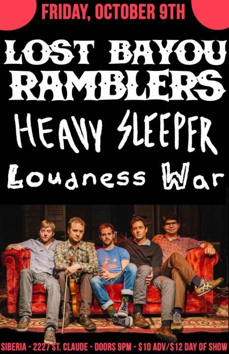 LOST BAYOU RAMBLERS | Heavy Sleeper | Loudness War