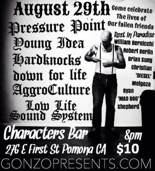 9th Annual A Celebration of Life, Pressure Point , Young Idea