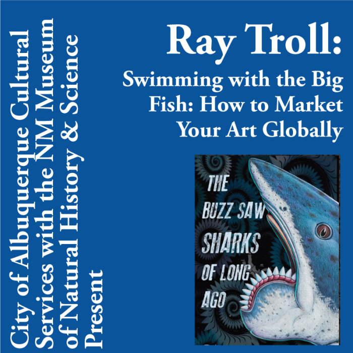 Ray Troll - Free Lecture