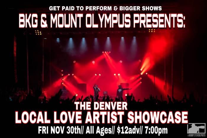 The Denver LOCAL LOVE Artist Show Case