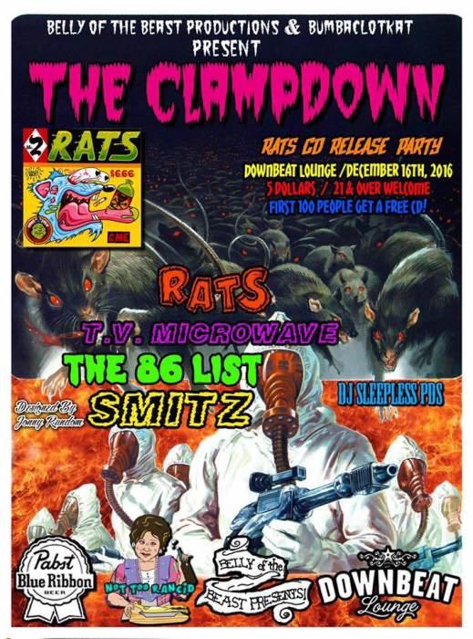 RATS cd release