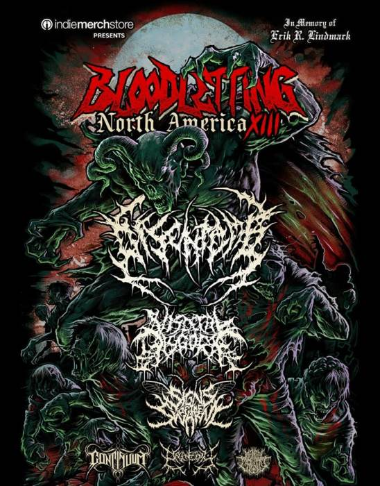 Bloodletting North America Tour XIII :