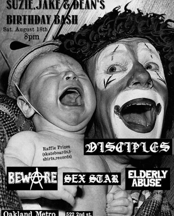 The Disciples/ Beware/ Sexstar/ Elderly abuse