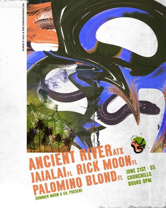 Ancient River, Jaialai, Rick Moon & Palomino Blond