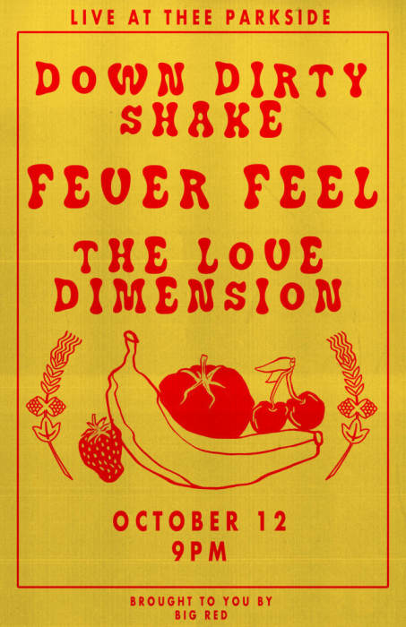 Fever Feel (Victoria, BC), Down Dirty Shake, The Love Dimension