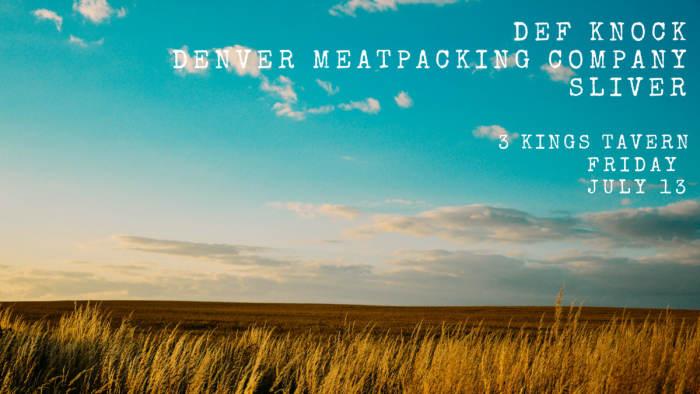 DEF KNOCK, DENVER MEAT PACKING COMPANY, SLIVER