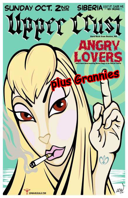 THE UPPER CRUST | Grannies | Angry Lovers