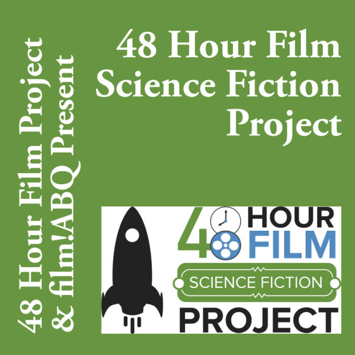 48 Hour Film Sci Fi Project 2015
