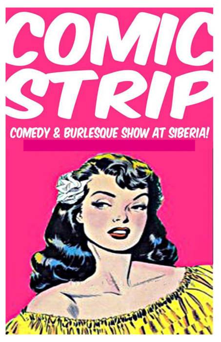 Comic Strip: Comedy and Burlesque