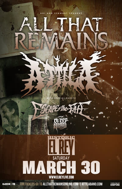 All That Remains * Attila