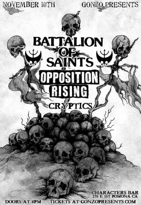 45th bday kick off BATTALION of SAINTS