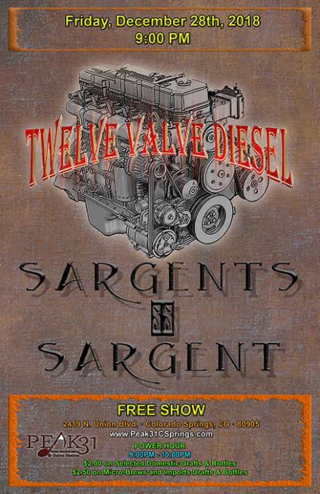 Twelve Valve Diesel / Sargents Sargent