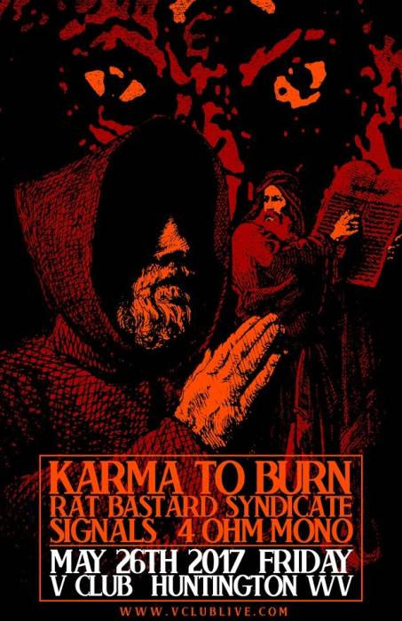 Karma To Burn / Rat Bastard Syndicate / Signals / 4 Ohm Mono