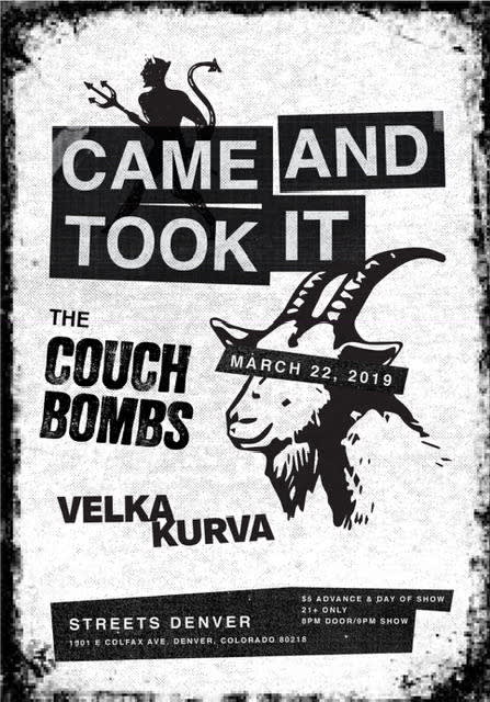 The Couch Bombs
