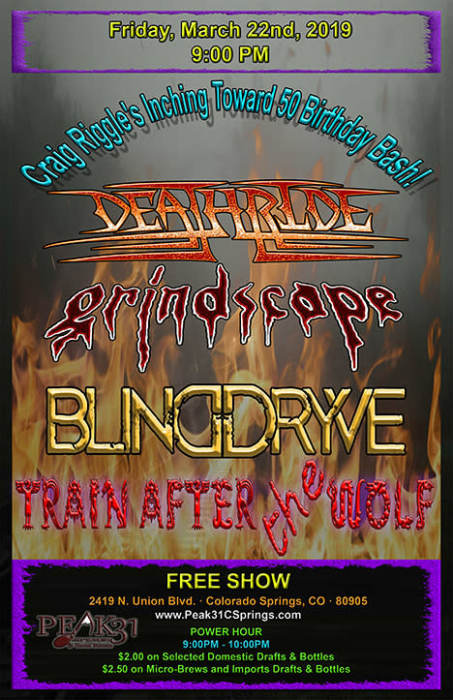 Train After the Wolf / Deathride /