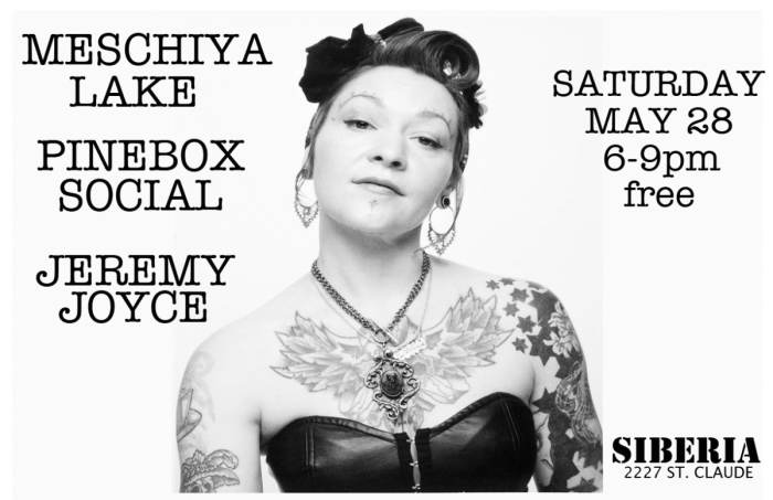 Meschiya Lake | Jeremy Joyce | Pine Box Social - EARLY SHOW!!
