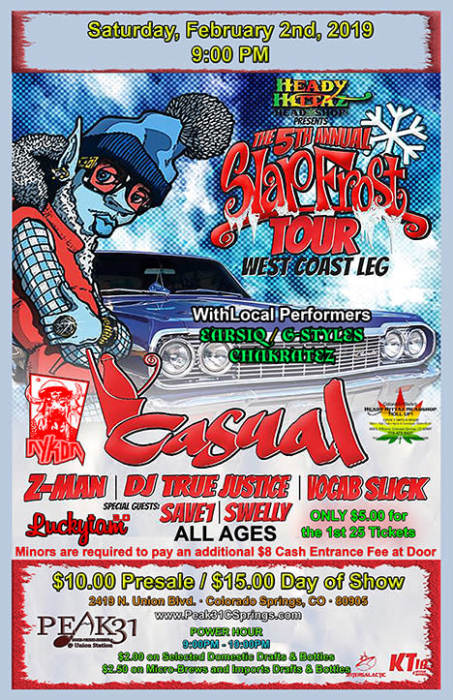 The 5th Annual SlapFrost Tour