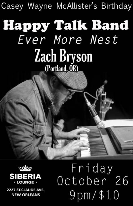 Happy Talk Band | Ever More Nest | Zach Bryson
