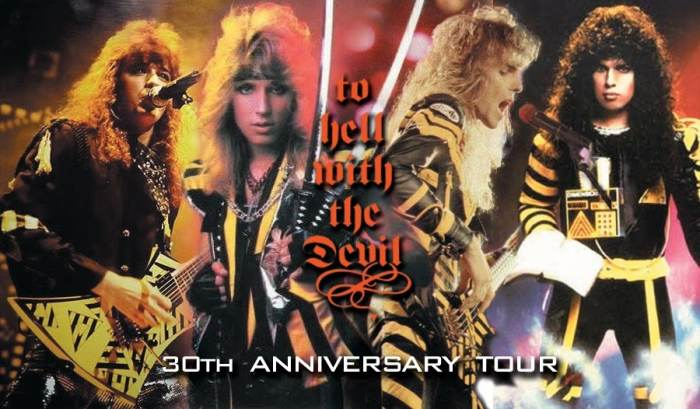 Stryper - To Hell With The Devil 30th Anniversary Tour