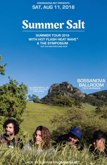 SUMMER SALT  *SHOW MOVED TO BOSSANOVA BALLROOM