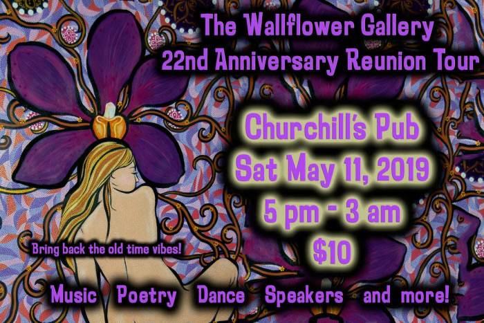 The Wallflower Gallery 22nd Anniversary Celebration