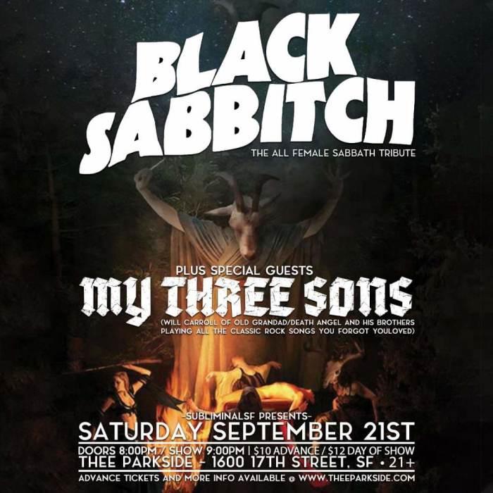 Black Sabbitch, My Three Sons