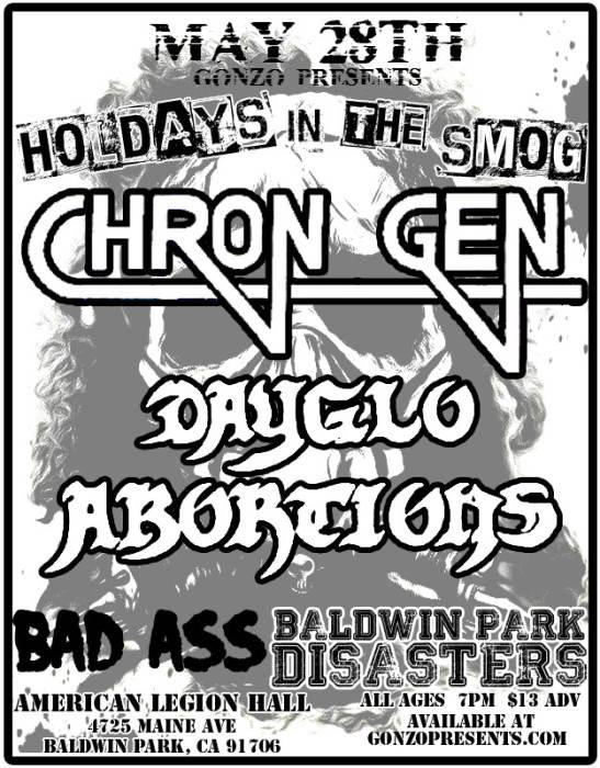 CHRON GEN, DAYGLO ABORTIONS