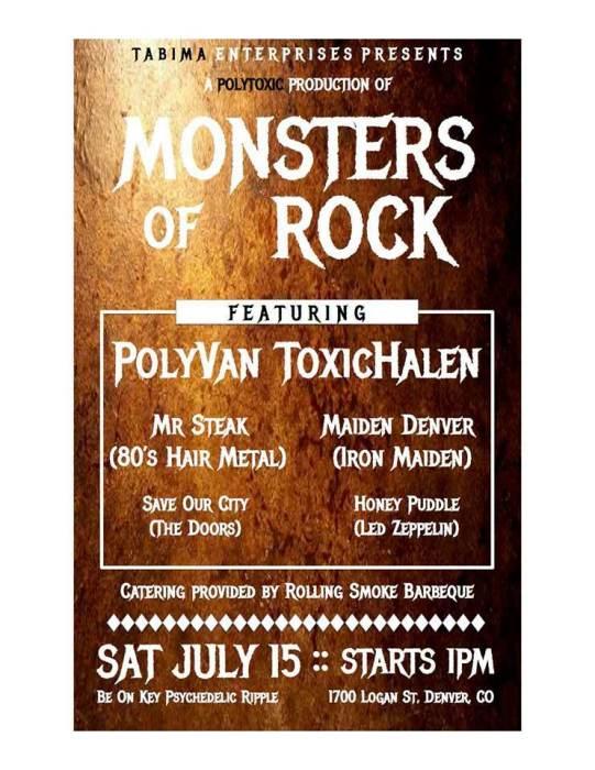 Polytoxic: Monsters of Rock Festival