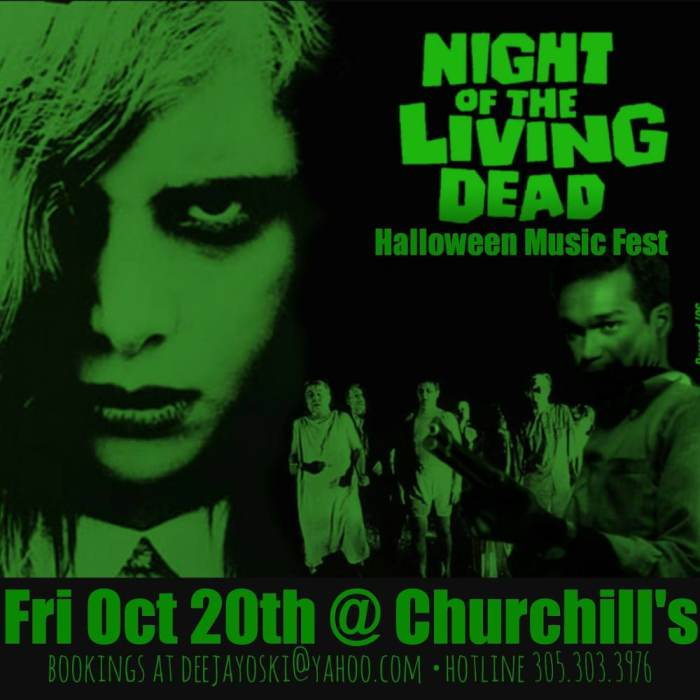 Night of the Living Dead Halloween Music Fest