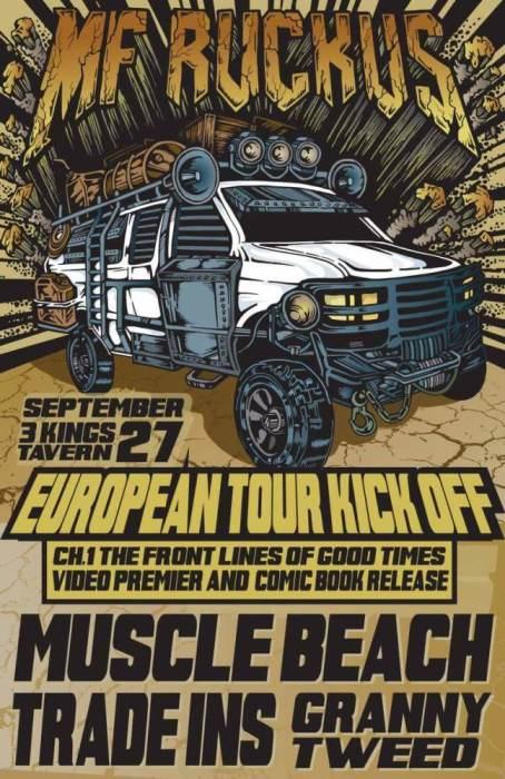 MF Ruckus - Comic/Video Premier + Tour Kickoff!